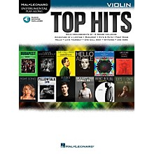 Hal Leonard Top Hits For Violin - Instrumental Play-Along Book/Online Audio