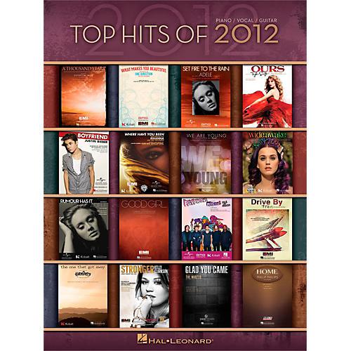 Hal Leonard Top Hits Of 2012 Piano/Vocal/Guitar Songbook