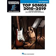 Hal Leonard Top Songs 2010-2019 Essential Elements Guitar Ensembles Early Intermediate Level
