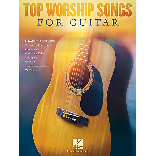 Hal Leonard Top Worship Songs for Guitar Guitar Collection Series Softcover Performed by Various