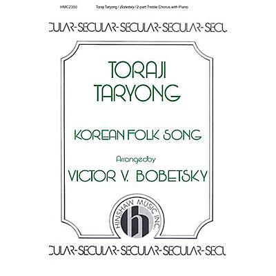 Hinshaw Music Toraji Taryong SA arranged by Victor Bobetsky