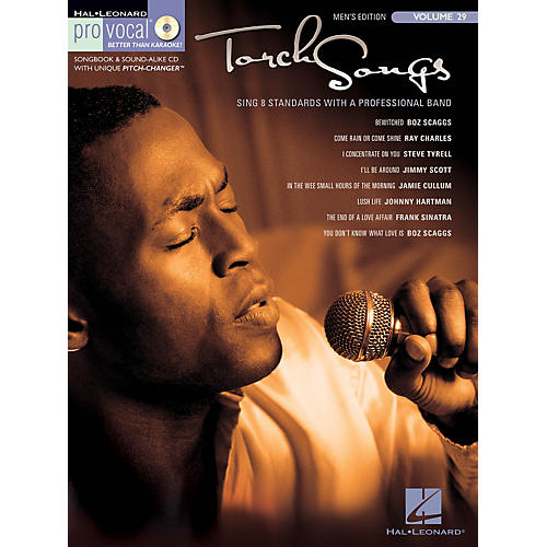 Hal Leonard Torch Songs (Pro Vocal Men's Edition Volume 29) Pro Vocal Series Softcover with CD Composed by Various