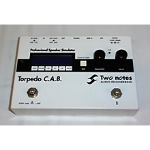 Two Notes Audio Engineering Torpedo C.A.B. Effect Processor