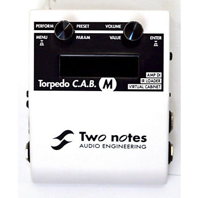 Two Notes Audio Engineering Torpedo C.A.B. M Effect Processor
