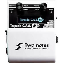 Open Box Two Notes Audio Engineering Torpedo C.A.B. M Speaker Simulator Effects Pedal