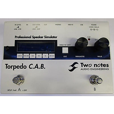 Two Notes Audio Engineering Torpedo C.a.b. Pedal