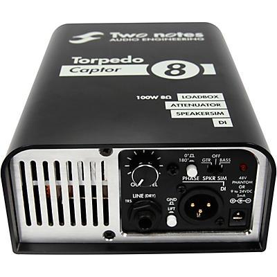 Two Notes Audio Engineering Torpedo Captor Loadbox/Attenuator/DI