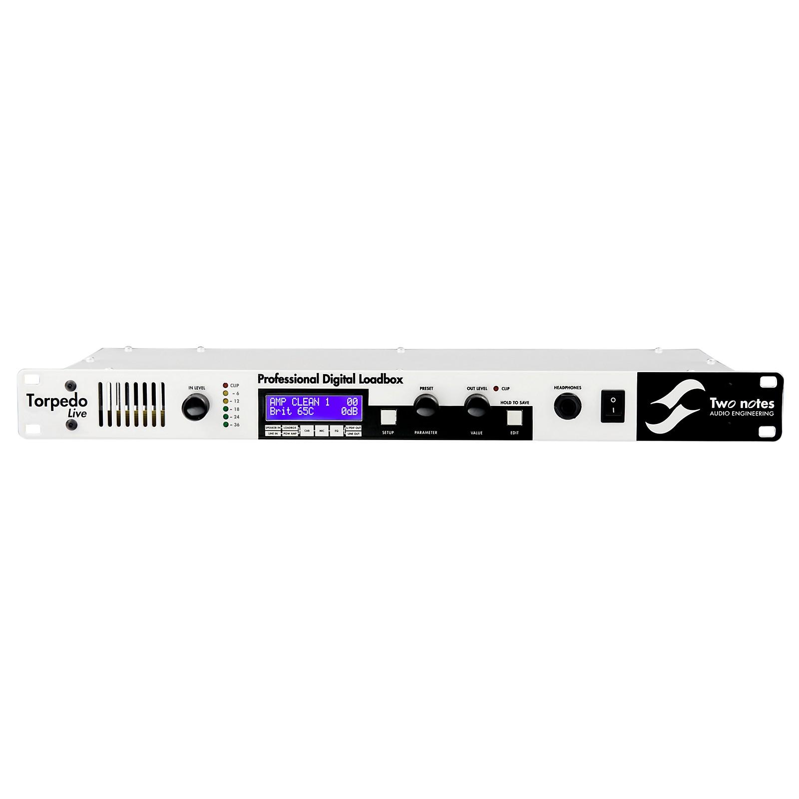 Two Notes Audio Engineering Torpedo Live Digital Loadbox/ Speaker Simulator