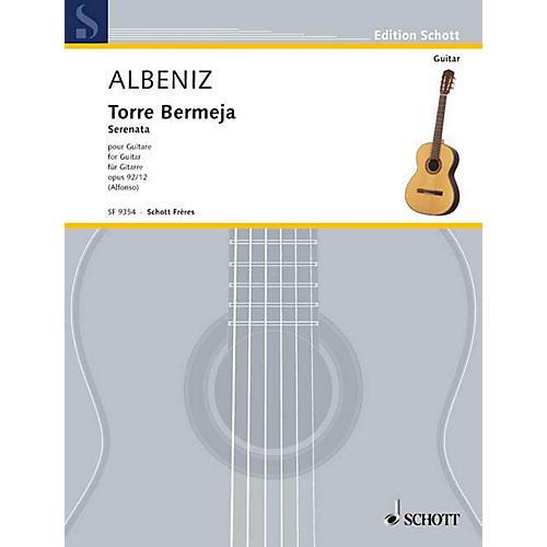 Schott Frères Torre Bermeja Op. 92/12 (for Guitar) Schott Series