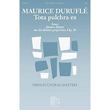 Durand Tota pulchra es (from Quatre Motets sur des themes gregoriens) SSA A Cappella Composed by Maurice Durufle