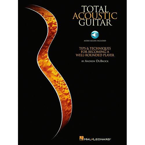Hal Leonard Total Acoustic Guitar - Book/CD