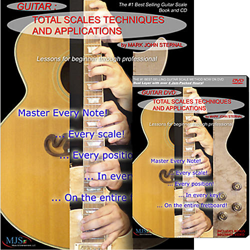 MJS Music Publications Total Scales Techniques And Applications DVD, Book, and CD Set