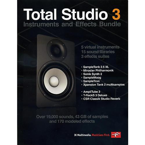 IK Multimedia Total Studio 3 Software Instruments and Effects Bundle