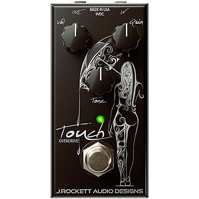 Rockett Pedals Touch Overdrive Effects Pedal