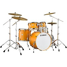 Tour Custom Maple 4-Piece Shell Pack with 22 in. Bass Drum Caramel Satin
