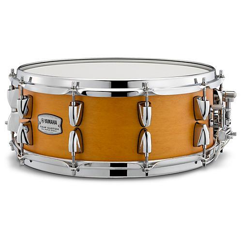 Yamaha Tour Custom Maple Snare Drum 14 x 5.5 in. Caramel Satin