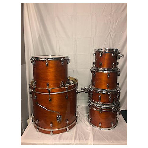 Taye Drums TourPro Basswood Drum Kit Honey Amber