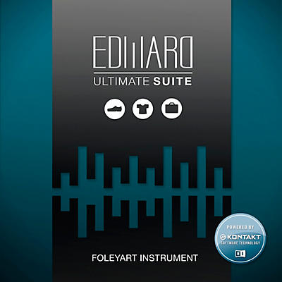 Tovusound Tovusound Edward Ultimate SUITE Foley Artist Virtual Instrument