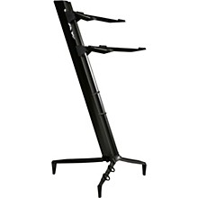 Tower Series Double-Tier Keyboard Stand Black
