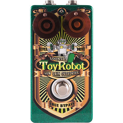 Lounsberry Pedals Toy Robot Low-Gain Overdrive Effects Pedal