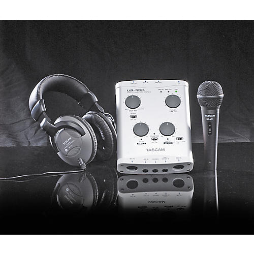 Tascam Track Pack T1 US-122L with Mic & Headphones
