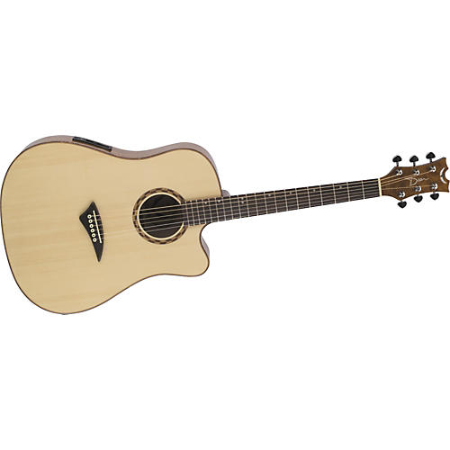 Dean Tradition Exotic Mapa Burl Cutaway Acoustic-Electric Guitar