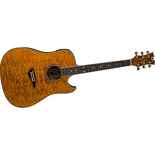 Dean Natural Series Florentine Cutaway Acoustic-Electric ...