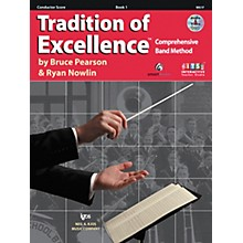 KJOS Tradition Of Excellence Book 1 for Conductor