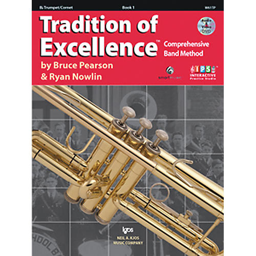 KJOS Tradition Of Excellence Book 1 for Trumpet