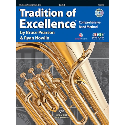 KJOS Tradition Of Excellence Book 2 for Baritone BC