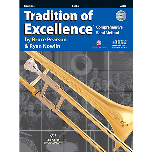 KJOS Tradition Of Excellence Book 2 for Trombone