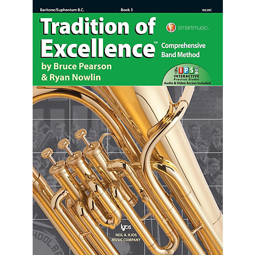 KJOS Tradition of Excellence Book 3 Baritone/euphonium BC