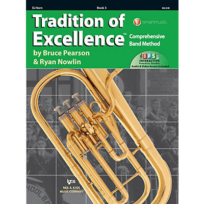 KJOS Tradition of Excellence Book 3 Eb Horn