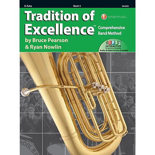 KJOS Tradition of Excellence Book 3 Eb Tuba