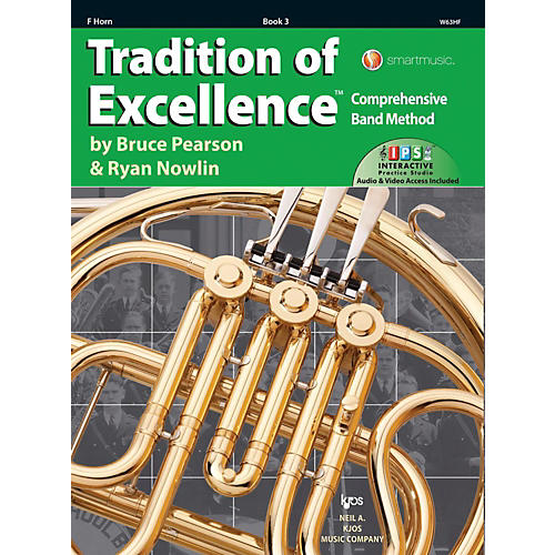KJOS Tradition of Excellence Book 3 F Horn