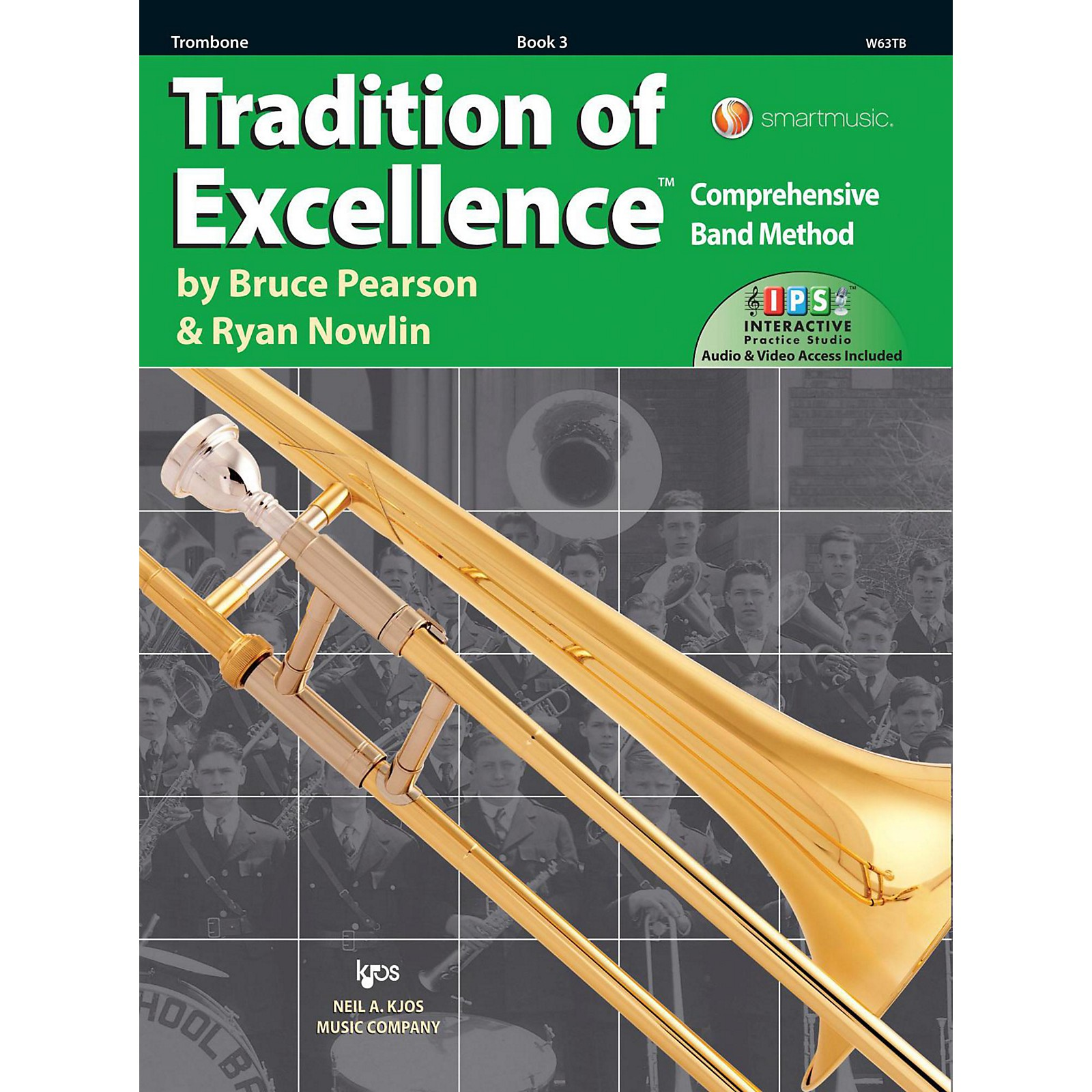 KJOS Tradition of Excellence Book 3 Trombone