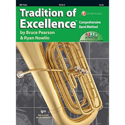 KJOS Tradition of Excellence Book 3 Tuba