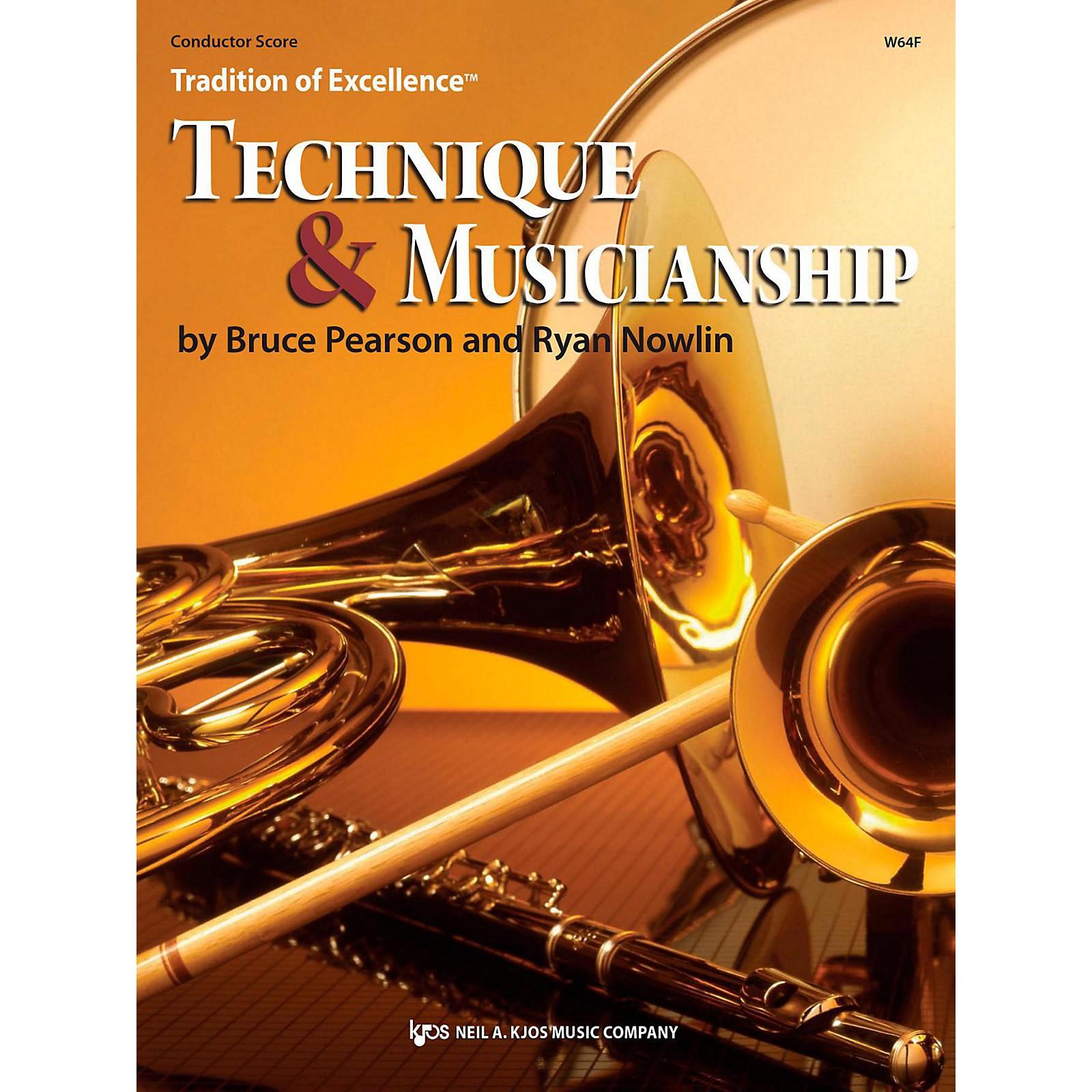 KJOS Tradition of Excellence: Technique & Musicianship Conductor Score