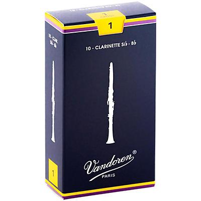 Vandoren Traditional Bb Clarinet Reeds