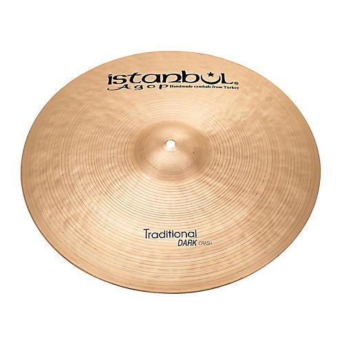 Istanbul Agop Traditional Dark Crash Cymbal 20 in.