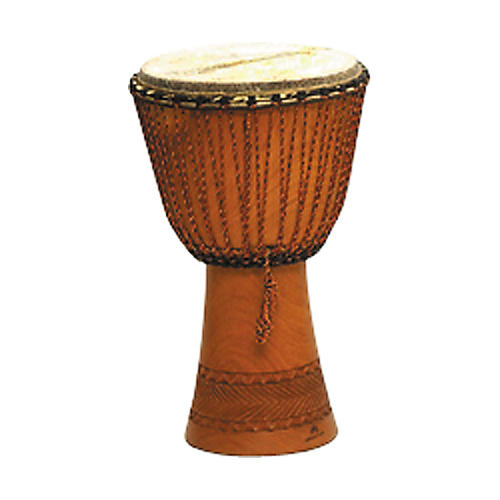 Overseas Connection Traditional Djembe Natural 11.5 x 21.5 in.