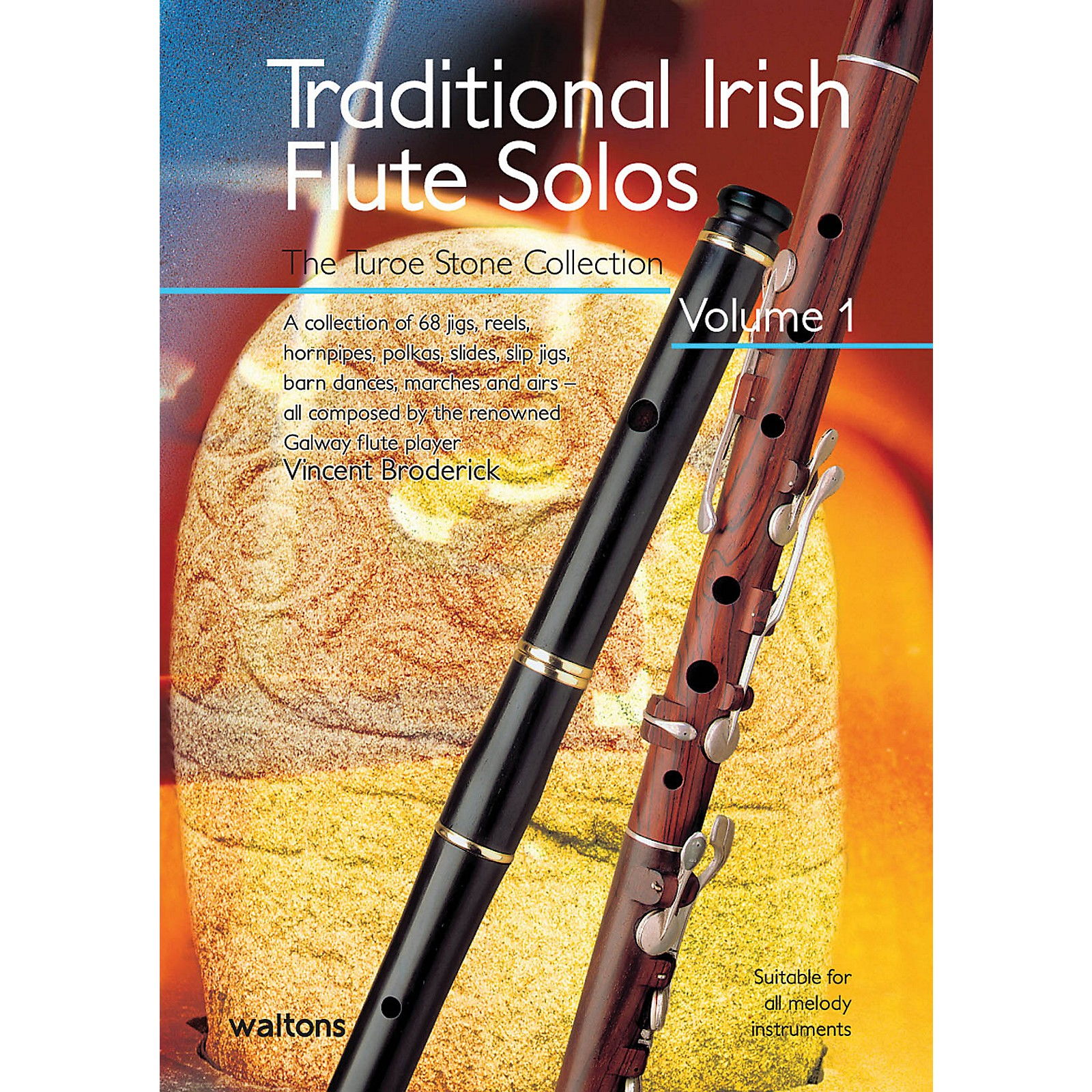 Waltons Traditional Irish Flute Solos - Volume 1 Waltons Irish Music Books Series Written by Vincent Broderick