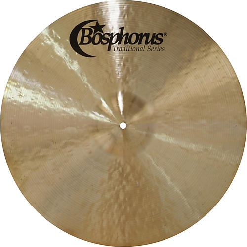 Bosphorus Cymbals Traditional Series Dark Hi-Hat Cymbal Pair