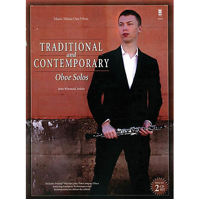 Music Minus One Traditional and Contemporary Oboe Solo Music Minus One Series BK/CD