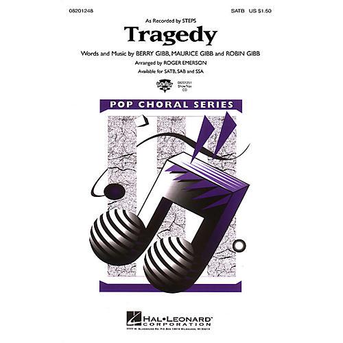 Hal Leonard Tragedy SAB by Steps Arranged by Roger Emerson