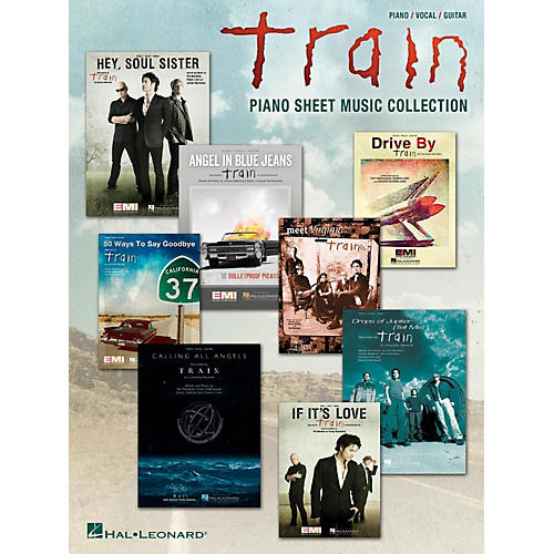 Hal Leonard Train - Piano Sheet Music Collection for Piano/Vocal/Guitar