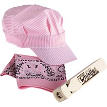 Train Whistle and Hat Set Pink