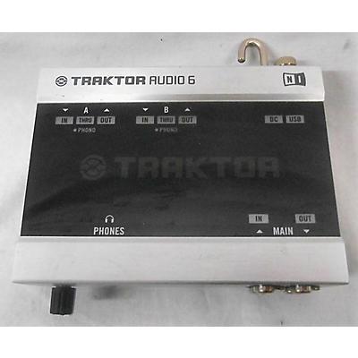 Native Instruments Traktor Audio 6 Audio Interface