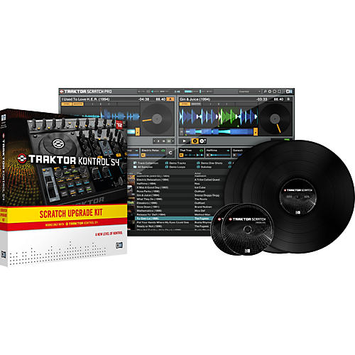 Native Instruments Traktor Kontrol S4 Scratch UPG Kit