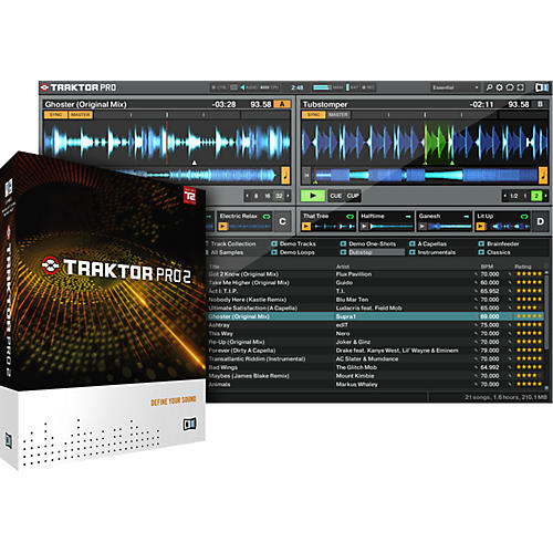 Native Instruments Traktor Pro 2 Upgrade from LE and DUO